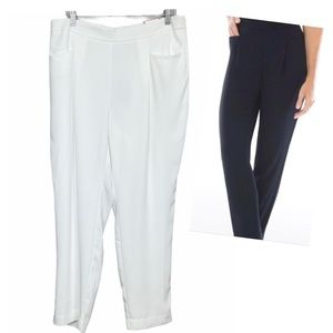 NWT Chicos The Ultimate Fit Slim Ankle Pants White